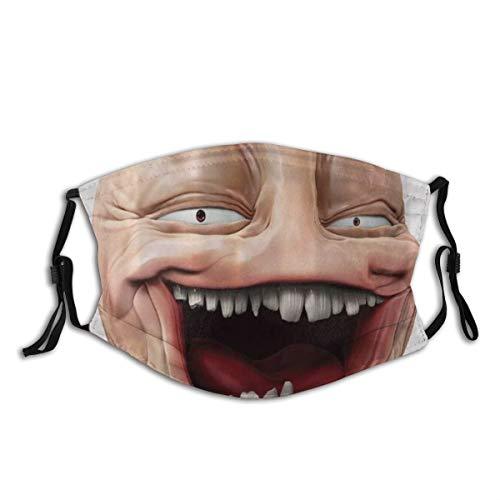CONICIXI Poker Face Guy Meme Lachende Scheinperson Selbstgefällig Dumme Ungerade Post Forum Grafik Staubwaschbarer wiederverwendbarer Filter und wiederverwendbarer