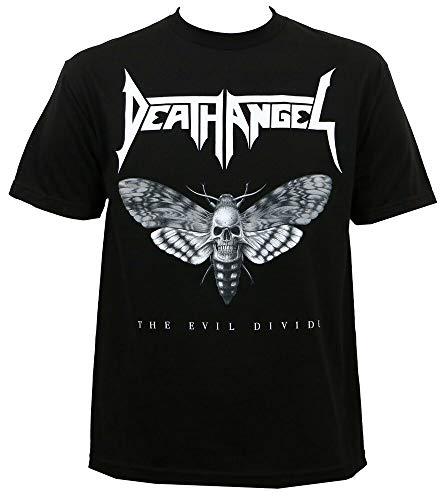 Death Angel Evil Divide Moth Bob Tyrell Art T-Shirt S-3Xl