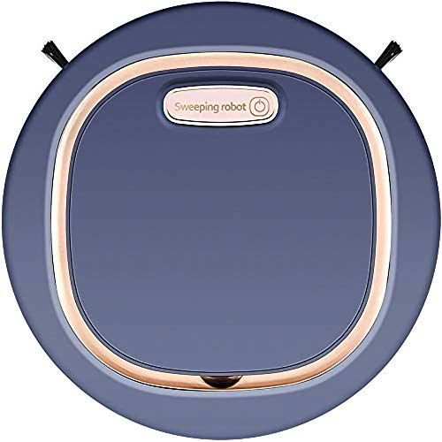 Robot Vacuum Cleaner, Super-Thin, 1800Pa Strong Suction, (Slim), Quiet, Robotic Vacuum Cleaner, Cleans Hard Floors to Medium-Pile Carpets (250x70, Royal Blue)
