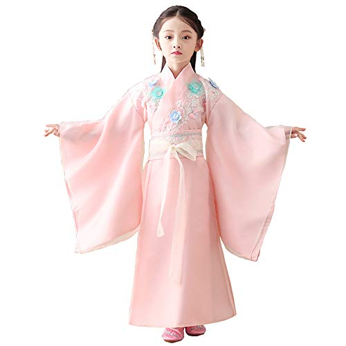 Find Bargain FXNN Hanfu-Chinese Ancient Costume Princess Chaise Costumes (Color : Pink, Size : 120cm...
