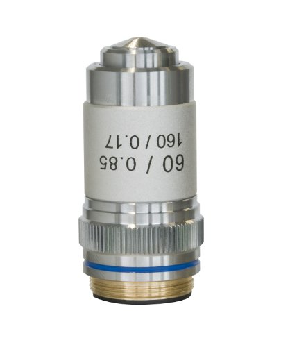 Bresser Mikroskop Objektiv DIN-60x, achromatisch für DIN/RMS Gewinde