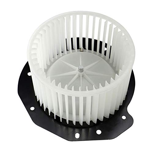 AC Heater Blower Motor w/Fan for 1987-1997 Ford F-150 1994-1997 F-250, 1987-1996 Ford Bronco, Replaces 700146 615-00514 FOTZ-18504-A F2TZ-18527-A