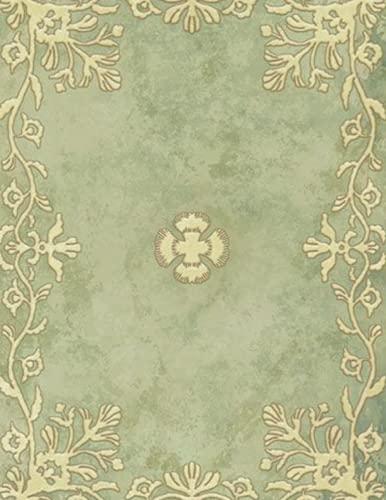 Four-Leaf Clover Grimoire carnet de note: Anime journal, papier ligné collégial , 120 pages lignées ,'8.5x11'inches, cadeau pour garçon, fille, fans de Yuno, amateurs de black clover