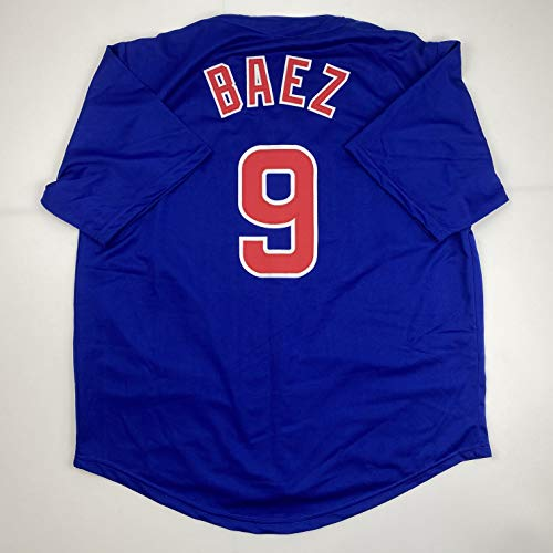 Unsigned Javier Baez Chicago Blue Custom Stitched Baseball Jersey Size Men's XL New No Brands/Logos