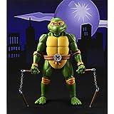 Tortugas Ninja SHF Michelangelo Limited Figma Animado PVC Figura 6'
