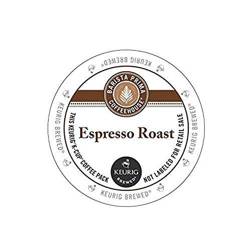 Barista Prima Espresso Roast Coffee Keurig K-Cups (96 Count)