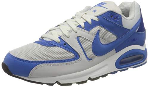 Nike Air Max Command Men's Shoe, Scarpe da Corsa Uomo, Platinum Tint/Pacific Blue, 45 EU