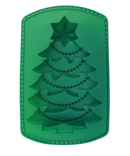 Siliwelt Silikon Backform Weihnachtsbaum 32 x 21 x 5 cm