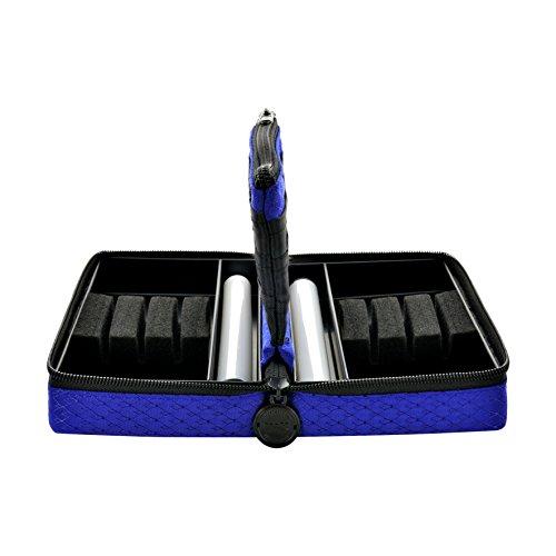 One80 Double Darttasche, Blau - 6