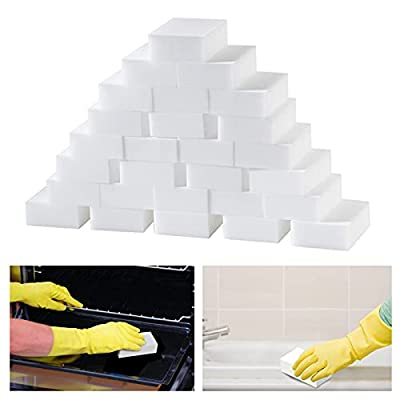 180Pack Large Magic Sponge Eraser, Melamine Foa...