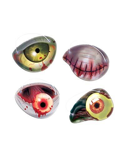 Zombie Augenklappenset 12 pièces