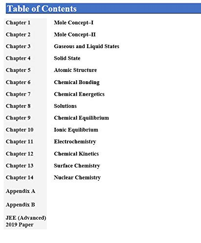 Wiley's Physical Chemistry for JEE (Main & Advanced), 2021