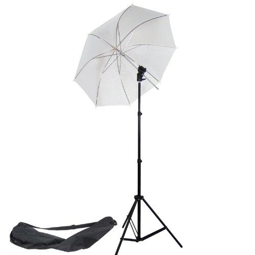 DYNASUN Studioset Studioblitz 968 Blitzhalter Halter Stativ Studioschirm Schirm für Blitzgerät Blitz