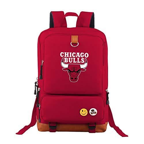 Cool Chicago Bulls Oxford Rucksack Schulrucksack Laptoprucksack Für Herren Damen Jungen MädchenKinderrucksäcke