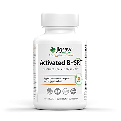 Jigsaw Health Activated B Complex w/SRT, 120 Tablets