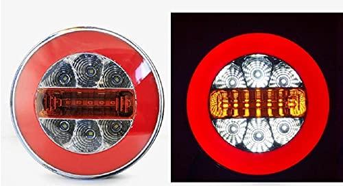 2 luces LED de neón de 12 V 24 V de 12 V y 24 V de cola trasera