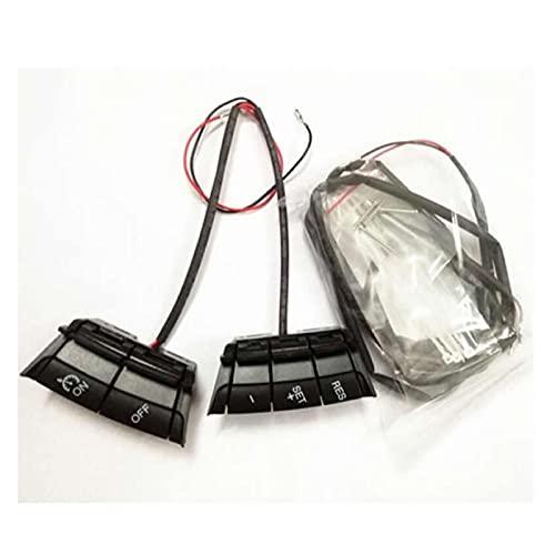 LANZI Sistema de Control de Velocidad del automóvil Kit de Control de Crucero Interruptor de Control Ford/Focus/ST 2 2005-2007 2008 2009 2010 2011 2011 Qiang Volante