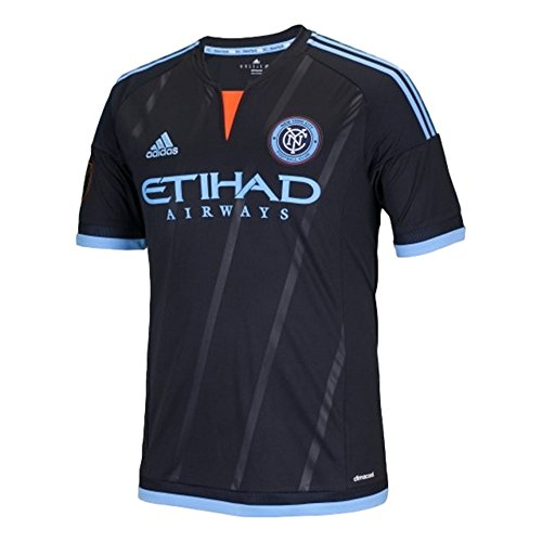 MLS New York City FC - Camiseta de manga corta para niños, talla XL, color negro