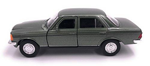 H-Customs Mercedes Benz E-Klasse E-Klasse W123 Modellauto Auto Lizenzprodukt 1:34-1:39 Grün