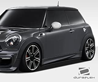 Extreme Dimensions Duraflex Replacement for 2007-2015 Mini Cooper R56 R57 R58 R59 DL-R Side Skirt Splitters - 2 Piece