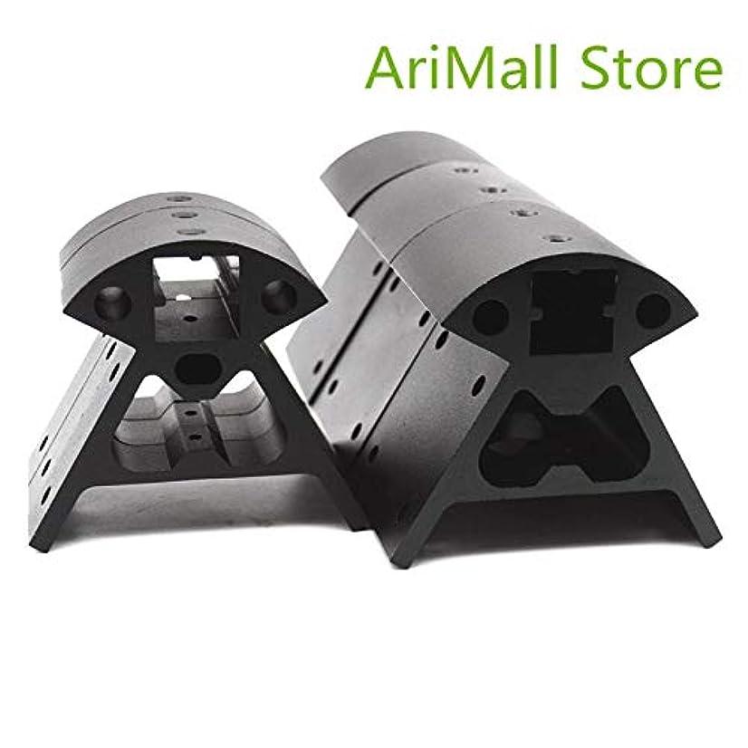 靄ライブ家WillBest Kossel Corner fitting Reprap 3D printer parts 3pcs bottom+3pcs top 1 set 2020 Aluminum Alloy Corners profile