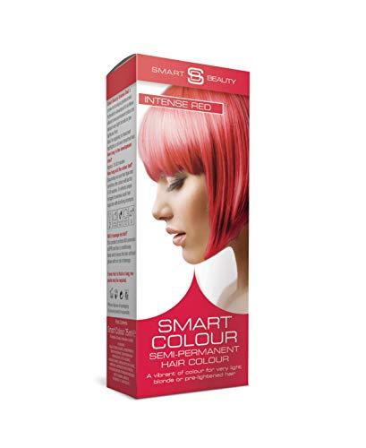 Smart Beauty Semi-permament Haarfarbe Intense Red 3 x 50 ml