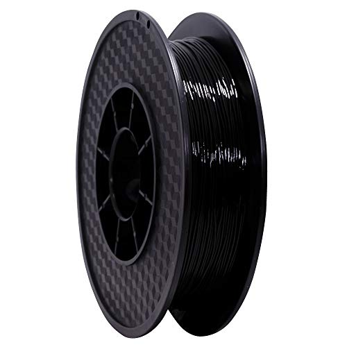 Flexible TPU White 85A PREMIUM WANHAO 1.75MM, 0.5 KG - filament for 3D printer, Black , 1