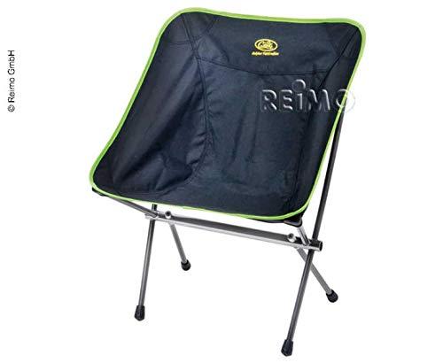 Chaise pliante 'Little Rock', Couleur : Citron Vert/Noir