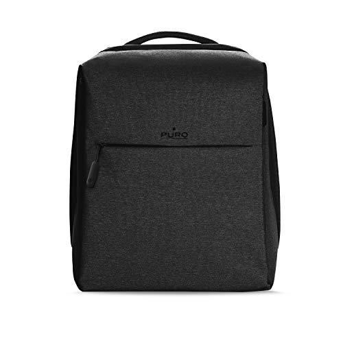 """Puro Matrix Zaino per MacBook Pro 15"""" e Notebook da 14"""", Nero"""