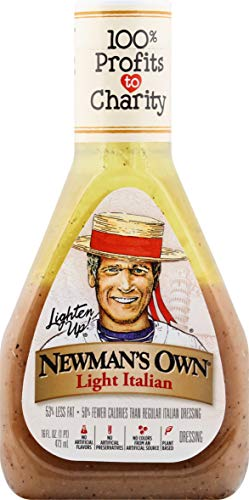 Newman's Own Light Italian Salad Dressing, 16 oz