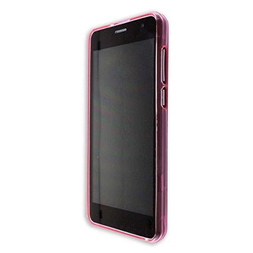 caseroxx TPU-Hülle für Archos Access 50 Color 3G, Handy Hülle Tasche (TPU-Hülle in pink)