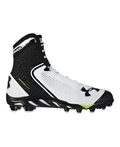 Under Armour UA Spine Brawler Mid Men's Football Cleats Size 9.5