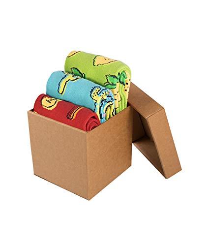 Pirin Hill Bunte Damen Socken, Hergestellt in der EU, Vom Hersteller Vertrieben, Geschenkbox 3 Colour Cotton Socks (Mexiko Licht, 39/42 EU)