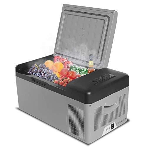 Portable Refrigerator/Freezer/Fridge 16 Quart(15 Liter), Ansten Mini Car Truck RV Boat Fridge Electric Cooler for Driving, Travel, Fishing, Picnic, Camping Outdoor use 12/24V DC