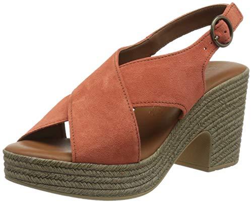 Tamaris Damen Sandalette 1-1-28036-36 611 orange normal Größe: 39 EU