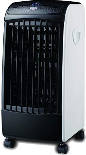 ABDC CLIMATIZADOR Ventilador Digital PINGÜINO FRÍO 80 W - PORTÁTIL Todo EN UNO - Color Blanco Y Negro
