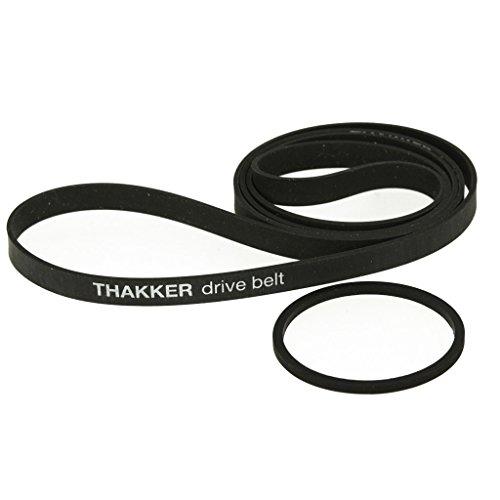 Thakker TD 126 MK II Snaar-Set compatibel met Thorens TD 126 MKII Snaar-Set Snaar Platenspeler Belt Aandrijfriemen