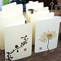 中国風グリーティングカード創造的な要素禅仏概念カスタムDiy先生の日グリーティングカードH