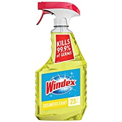 Kills 99.9% of germs, viruses and bacteria on hard non-porous surfaces Great for cleaning bathrooms, kitchens, tiles, stainless steel, and more Leaves no dull residue behind Perfect for quick touch-ups around the house. Leaves an unbeatable* streak-f...