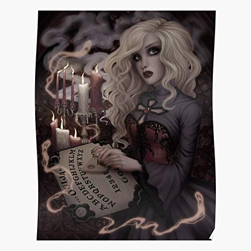 Freshmarque Candles Witchcraft Ouija Witch Seance Occult Board Ghost Spiritualism The Most Impressive and Stylish Indoor Decoration Poster Available Trending Now