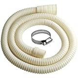Beaquicy Washing Machine Drain Hose Extension Kit - Compatible with most Drain Hose - Telescopic Replacement Drain Pipe 6-Foot