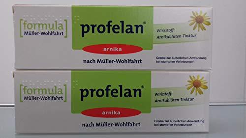 (14,97EUR /100 g Brutto) Schmerzsalbe Profelan Arnika, 2er Pack (2 x 100g) Inhalt: 200 g