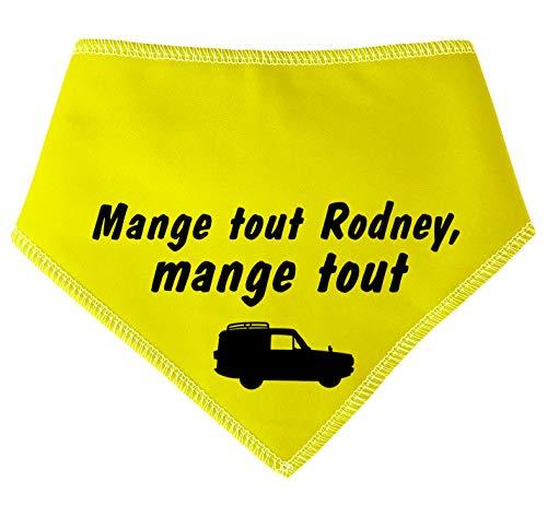Spoilt rode pets Mange Tout Rodney Mange Tout S4 Only Fools & Horses Del Boy Uncle Albert & Rodney klassieke Britse Comedy Fan Dog halsdoek band
