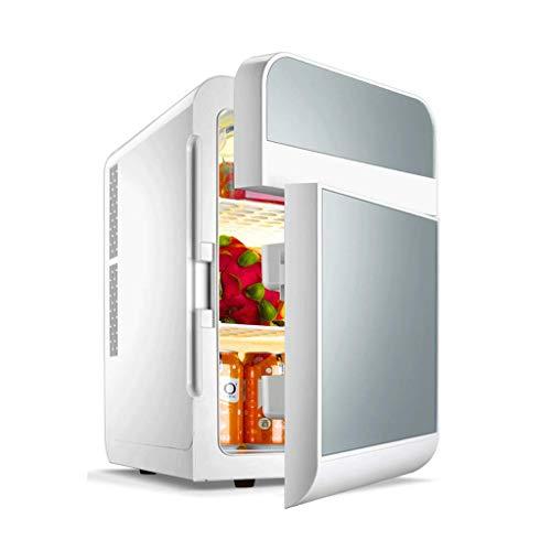Réfrigérateur de Voiture 20L Mini réfrigérateur Petit réfrigérateur Domestique Double Porte Double (Couleur : A)