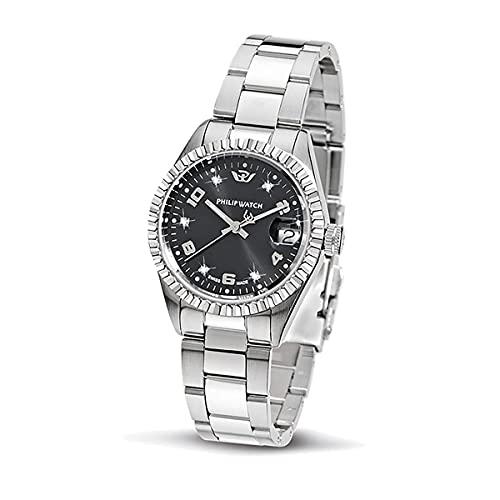 Philip Watch Philip Watch Reloj de Mujer de Cuarzo, Colección Caribe, con Correa de Acero Inoxidable - R8253597559