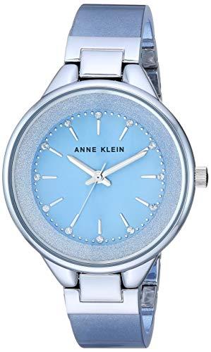 Anne Klein Reloj de Pulsera de Resina con Cristales Swarovski para Mujer