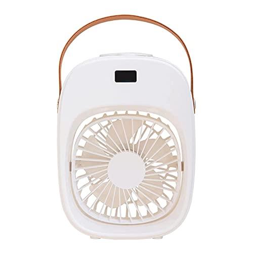 Condizionatore d'aria Portatile, Mini Ventilatori USB, Ventola di Raffreddamento ad Acqua per Desktop con Umidificazione Domestica a Spruzzo Silenzioso, Ventole a Turbo Personali (Color:2,Size:)
