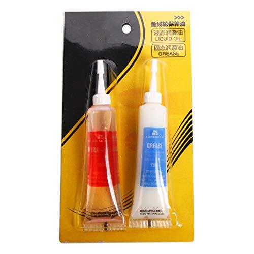 BELTI Carrete de Pesca de Aceite lubricante de rodamiento de Rueda de Pesca de 20 ml Grasa lubricante Especial