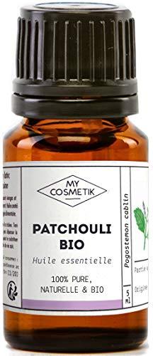Aceite esencial de Pachuli orgánico - MyCosmetik - 10 ml