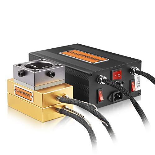 New 3x5 Inch DIY Uncaged Heat Press Plates Kit - Build A 10-12 Ton Press